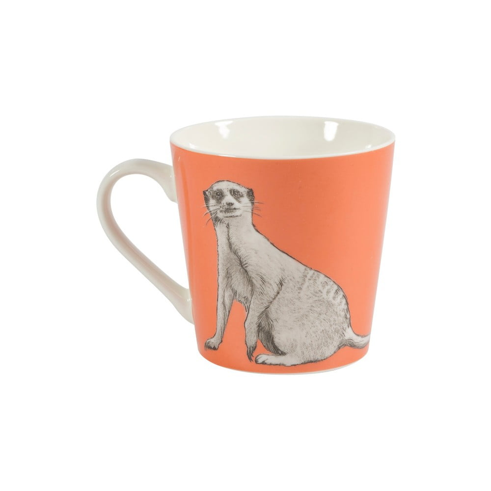 Hrnček z kostného porcelánu Churchill China Couture Meerkat, 325 ml