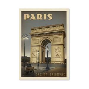 Plagát Americanflat Arc de Triomphe, 42 x 30 cm