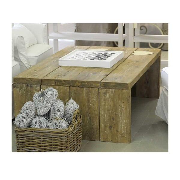 Stolík z recyklovaného dreva Old Wood, 86x128 cm
