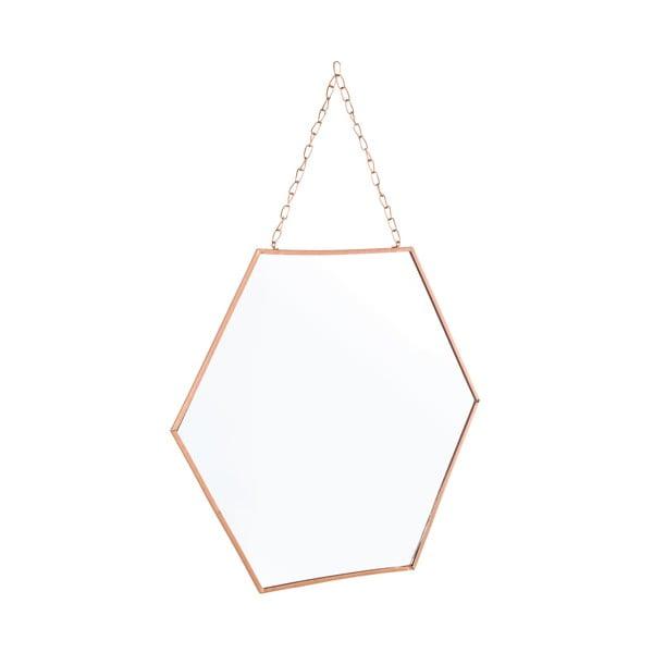 Závesné zrkadlo Helly, 36x40 cm