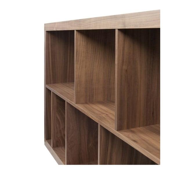 Knižnica v dekóre orechového dreva TemaHome Rainbow