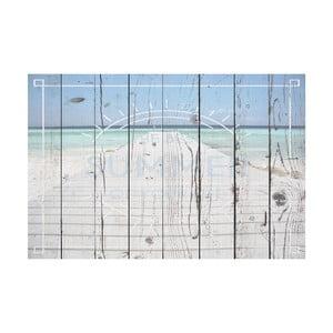 Vinylový koberec Pasarela Text, 65x100 cm