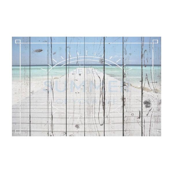 Vinylový koberec Pasarela Texto, 100x150 cm