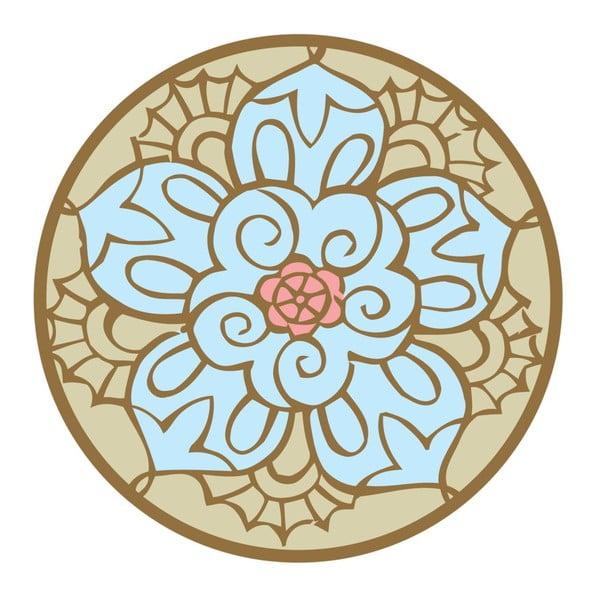 Samolepky Mandala Blue/Beige