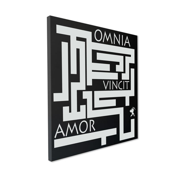 Magnetická tabuľa Omina Vincit Amor