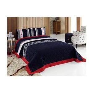 Set prikrývky na posteľ a vankúša U.S. Polo Assn. Waldport, 180 x 250 cm