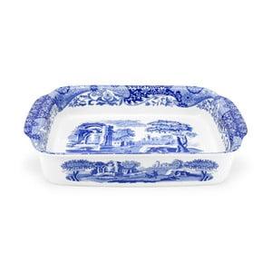 Bielo-modrá porcelánová servírovacia misa Spode Blue Italian