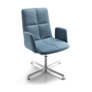 Kancelárska stolička Uno Zago, zelenomodrá