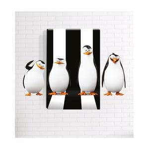Nástenný 3D obraz Mosticx Tučniaky, 40 x 60 cm