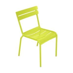 Zelená záhradná stolička Fermob Lu×embourg