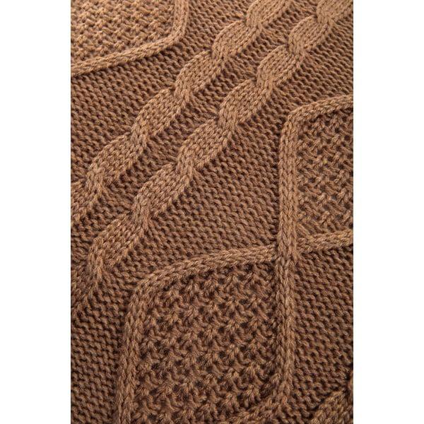 Vankúš s výplňou Fancy Brown, 43x43 cm
