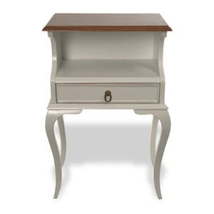 Odkladací stolík Amanda Vintage, 48x31x75 cm