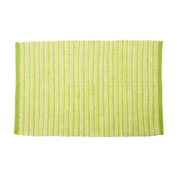 Koberec Green Stripes, 60x90 cm