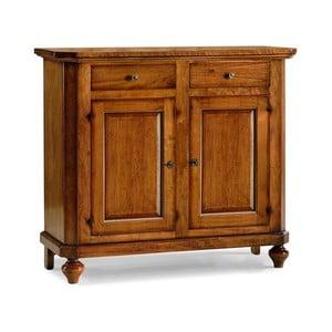 Dvojdverová drevená komoda s2zásuvkami Castagnetti Classico