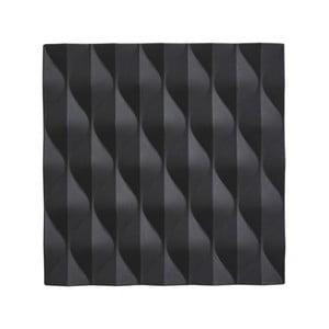 Čierna silikónová podložka pod horúce nádoby Zone Origami Wave