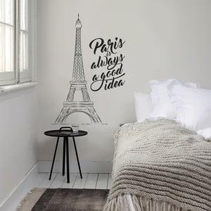 Samolepka na stenu Paris is..., 70 x 50 cm