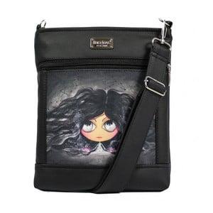Čierna kabelka Dara bags Ruby No.158