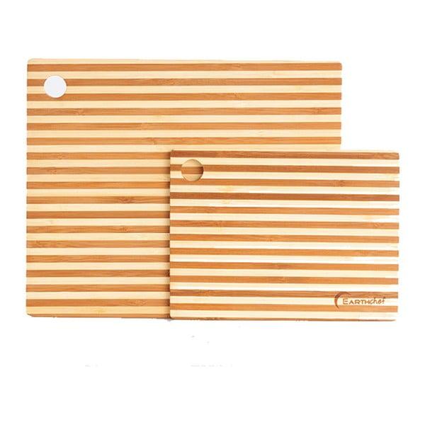 Set 2 podložiek na krájanie Bamboo