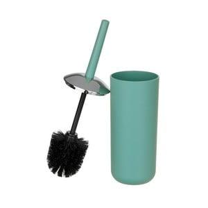 Zelená toaletná kefa Wenko Brasil