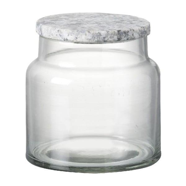 Sklenená dóza Granite Lid