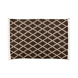 Hnedý koberec Cotex Stony, 140 × 200 cm