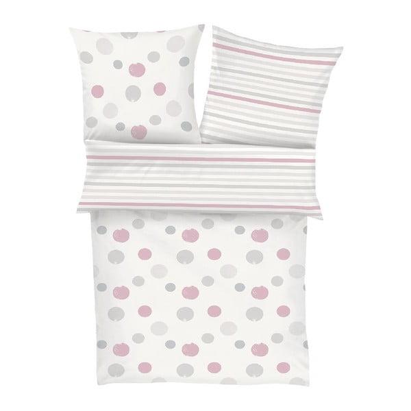 Detské obliečky Flannel Pink, 135x200 cm