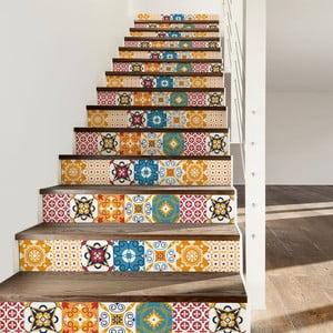 Sada 2 samolepiek na schody Ambiance Dola, 15×105 cm