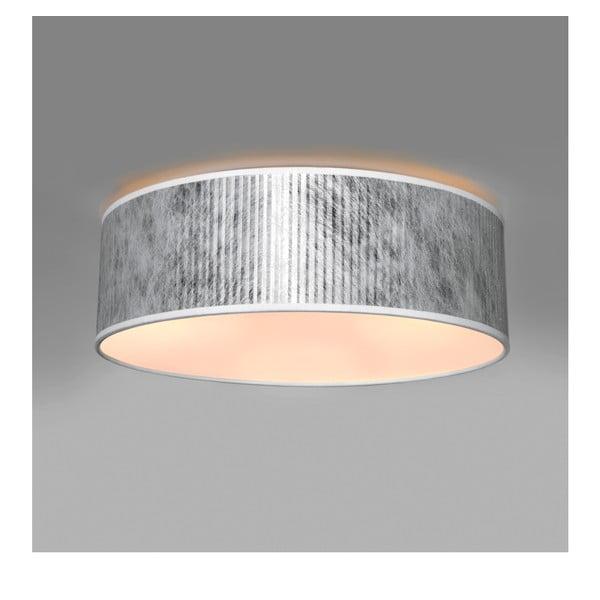 Stropné svetlo v striebornej farbe Bulb Attack Tres, Ø 30 cm