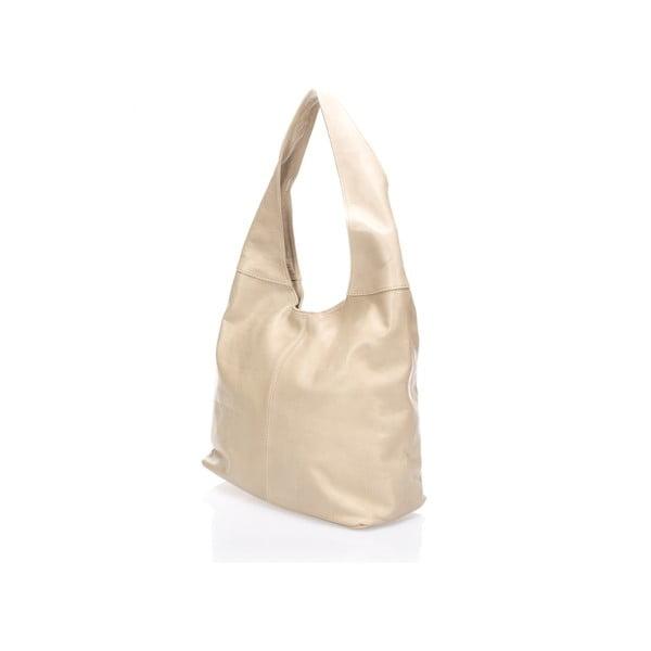 Kožená kabelka Beattie, taupe