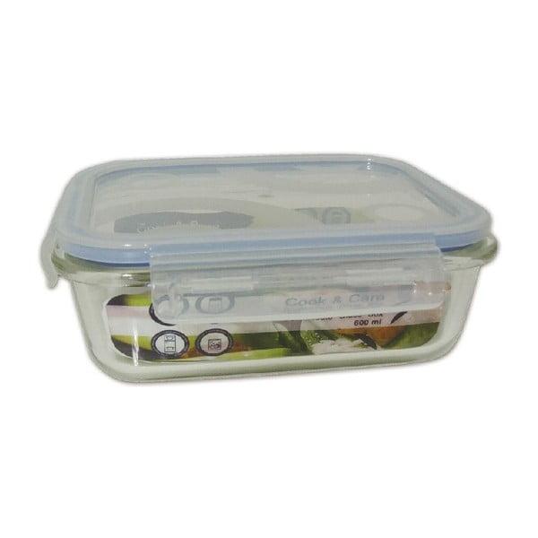 Odolný sklenený box na potraviny Utilinox, 600 ml