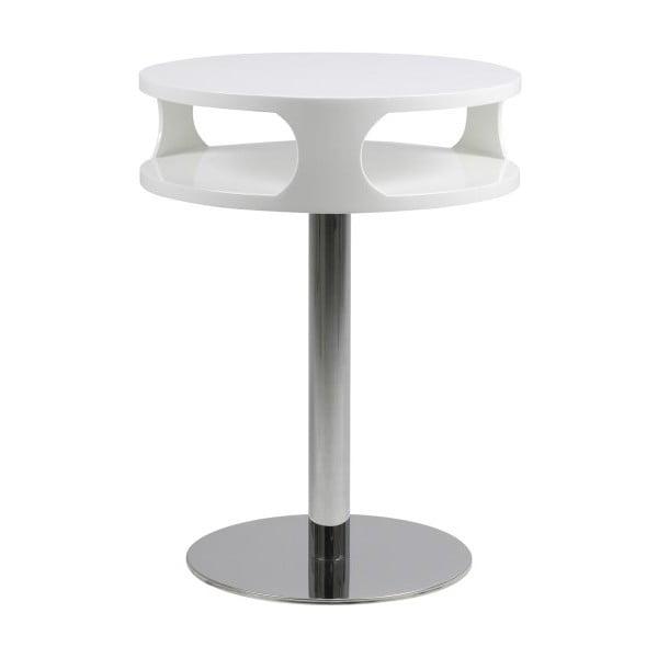 Biely konferenčný stolík Actona Caspian, výška 60 cm