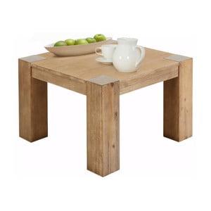 Odkladací stolík z akáciového dreva Støraa Mabel, 70 x 70 cm