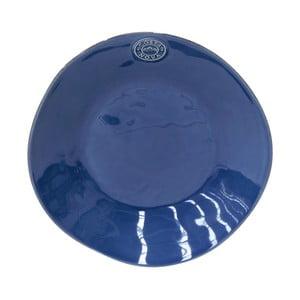 Tmavomodrý kameninový polievkový tanier Ego Dekor Nova, ⌀ 25 cm