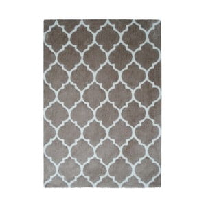 Sivo-hnedý koberec Smooth, 160x230cm