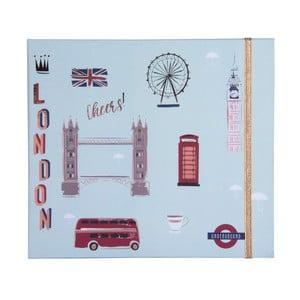 Vreckový týždenný plánovač Tri-Coastal Design London Cheers