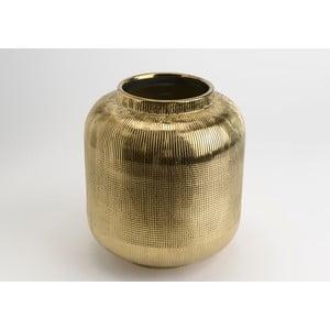 Váza Golden Vase, 25 cm