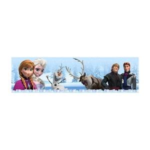 Samolepiaca bordúra AG Design Frozen Ľadové kráľovstvo III, dĺžka 5 m