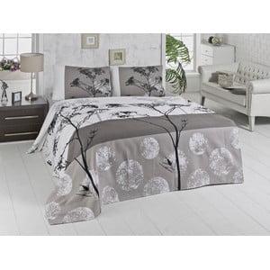 Prikrývka cez posteľ Belezza Grey, 160x230cm