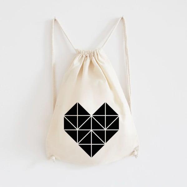 Plátený batoh Origami Herz