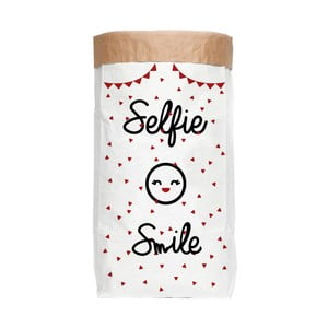Úložné vrece Really Nice Things Selfie Smile