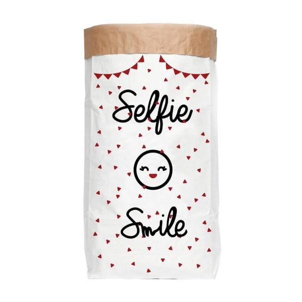 Úložné vrece Really Nice Things Selfie Smile