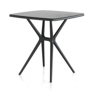 Raňajkový stolík Bongo, sivý