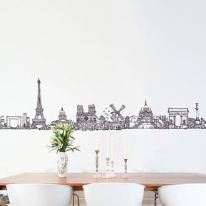 Samolepka All Paris, 33x150 cm