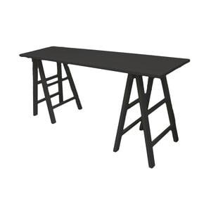 Čierny drevený stôl Interiörhuset Samira