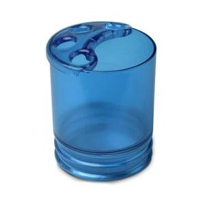 Modrý téglik na zubné kefky Ta-Tay Toothbush Holder Aqua