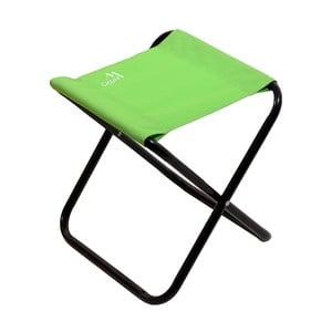 Zelená skladacia kempingová stolička Cattara Milano