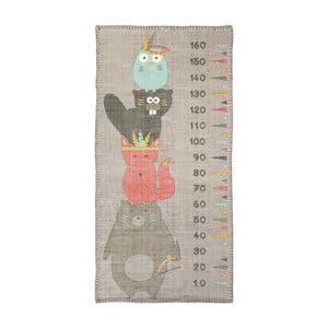 Nástenný detský meter Nattiot Totem,80x170cm