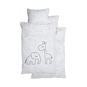 Biele detské obliečky Done by Deer Dreamy Dots, 70×100 cm