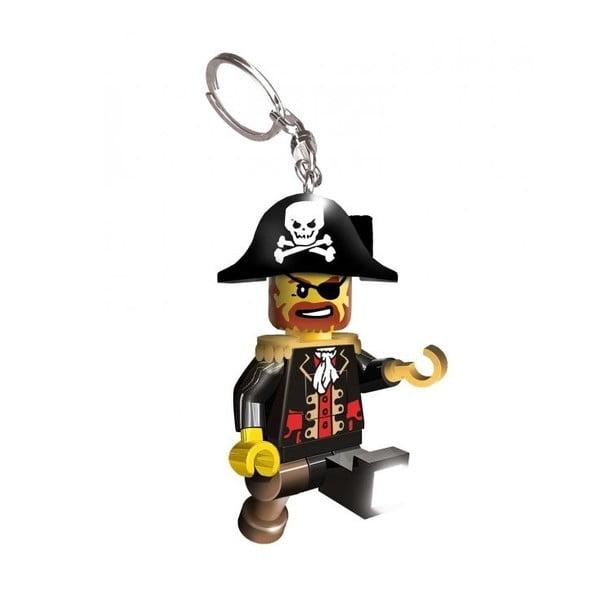 Svietiaca kľúčenka LEGO Kapitán pirátov