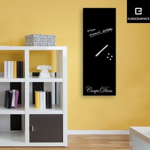 Magnetická tabuľa Eurographics Carpe Diem Luxury, 30 x 80 cm